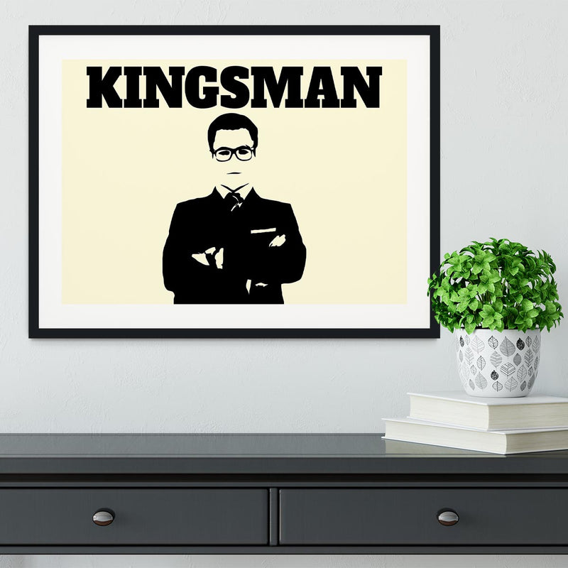 Kingsman Framed Print - Canvas Art Rocks - 1