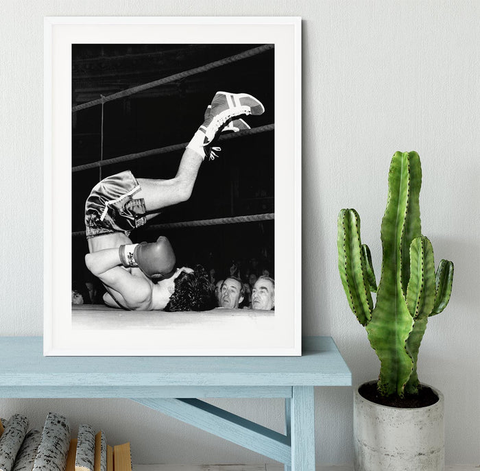 Knock Out Framed Print