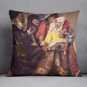 Kupplerin by Vermeer Cushion