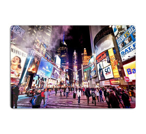 LED signs Broadway Theaters HD Metal Print