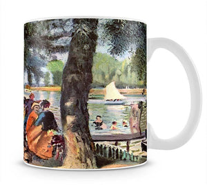 La Grenouillere by Renoir Mug - Canvas Art Rocks - 1