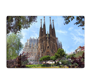 La Sagrada Familia HD Metal Print