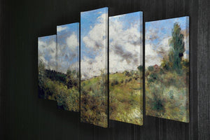 Landscape by Renoir 5 Split Panel Canvas - Canvas Art Rocks - 2