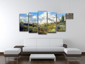 Landscape by Renoir 5 Split Panel Canvas - Canvas Art Rocks - 3