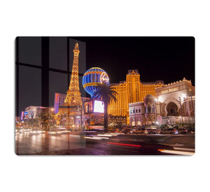 Las Vegas Blvd at Flamingo HD Metal Print