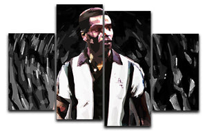 Laurie Cunningham 4 Split Panel Canvas  - Canvas Art Rocks - 1