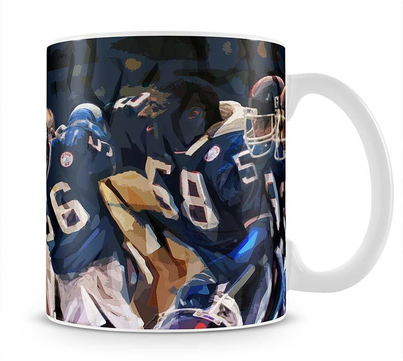 Lawrence Taylor New York Giants Mug - Canvas Art Rocks - 1