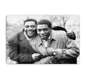 Lenny Henry and Frank Bruno HD Metal Print