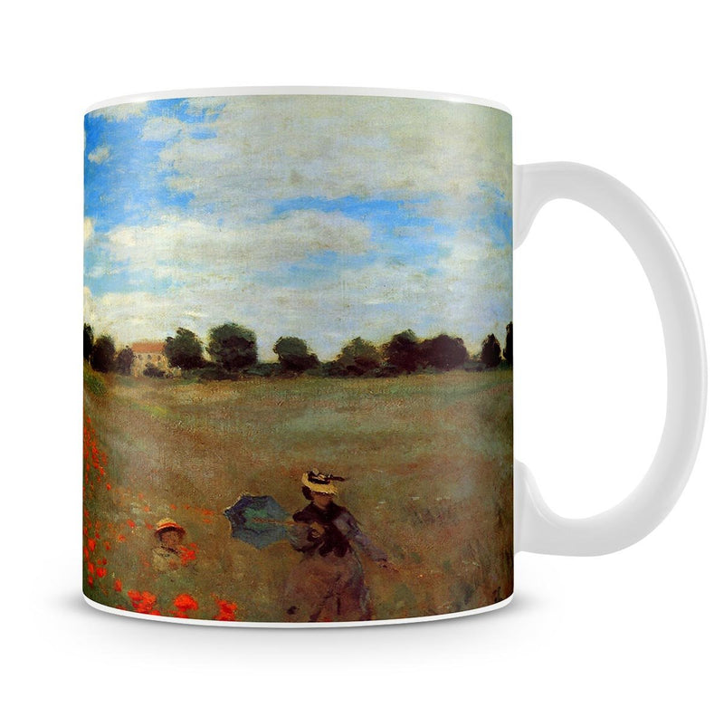 Les Coqueliquots Mug - Canvas Art Rocks - 4