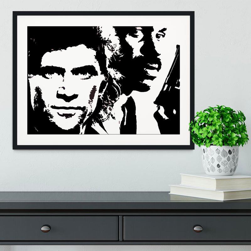Lethal Weapon Framed Print - Canvas Art Rocks - 1