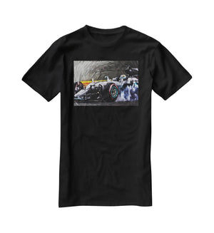 Lewis Hamilton Formula 1 T-Shirt - Canvas Art Rocks - 1