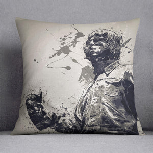 Liam Gallagher Paint Splatter Cushion