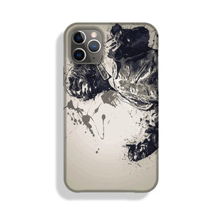 Liam Gallagher Paint Splatter Phone Case iPhone 11 Pro Max