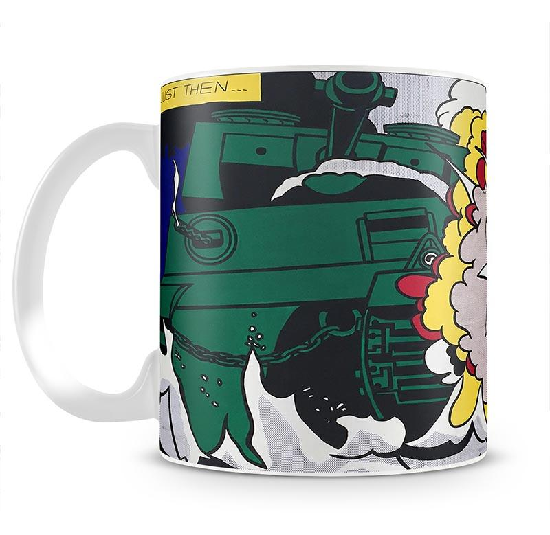 Lichenstein Live Ammo Blang Mug - Canvas Art Rocks - 2