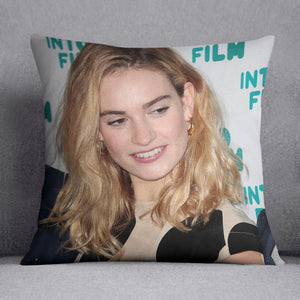 Lily James Cushion