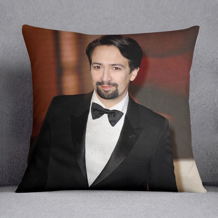 Lin Manuel Miranda Cushion