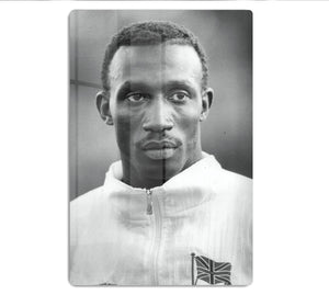 Linford Christie 1991 HD Metal Print - Canvas Art Rocks - 1