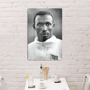 Linford Christie 1991 HD Metal Print - Canvas Art Rocks - 3