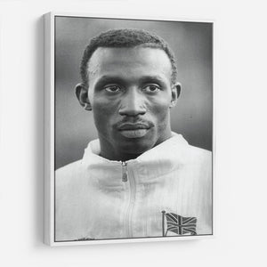 Linford Christie 1991 HD Metal Print - Canvas Art Rocks - 7