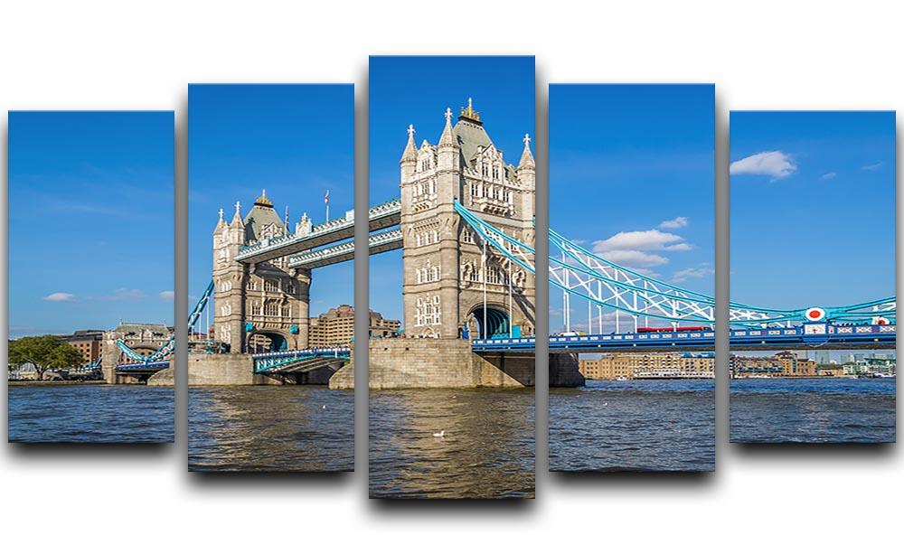 LONDON TOWER BRIDGE CANVAS PRINT PICTURE WALL ART FREE FAST DELIVERY