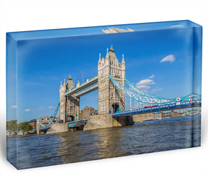 London Tower Bridge Acrylic Block - Canvas Art Rocks - 1