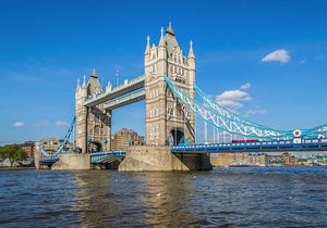 London Tower Bridge Wall Mural Wallpaper - Canvas Art Rocks - 1