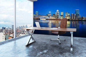London skyscrapers reflected Wall Mural Wallpaper - Canvas Art Rocks - 3