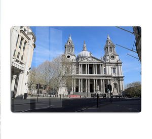 London under Lockdown 2020 St Pauls Cathedral HD Metal Print - Canvas Art Rocks - 1