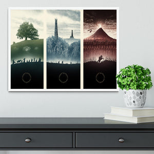 Lord Of The Rings Story Framed Print - Canvas Art Rocks -6