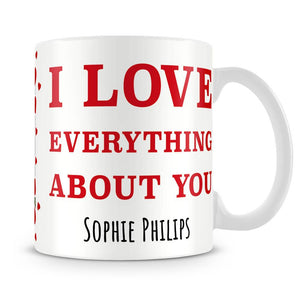 I Love You Photo Upload Personalised Mug