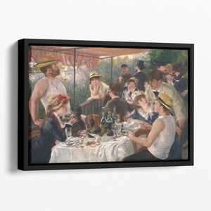 Luncheon of the Boating Party by Renoir Floating Framed Canvas