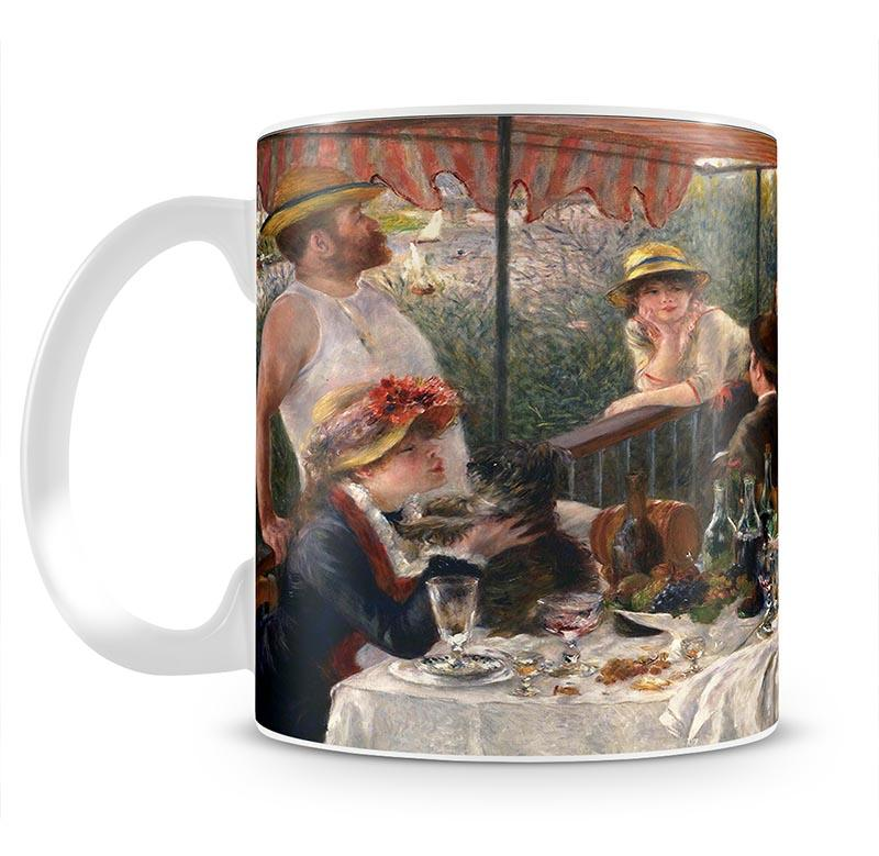 Luncheon of the Boating Party by Renoir Mug - Canvas Art Rocks - 2