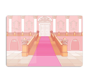 Luxury staircase in the magic palace HD Metal Print