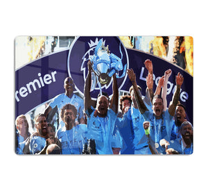 MANCHESTER CITY PREMIER LEAGUE WINNERS 2019 HD Metal Print - Canvas Art Rocks - 1