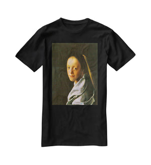 Maid by Vermeer T-Shirt - Canvas Art Rocks - 1