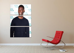 Malachi Kirby 3 Split Panel Canvas Print - Canvas Art Rocks - 2