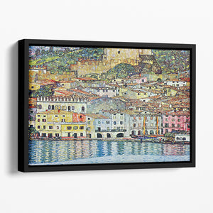 Malcena at the Gardasee by Klimt Floating Framed Canvas