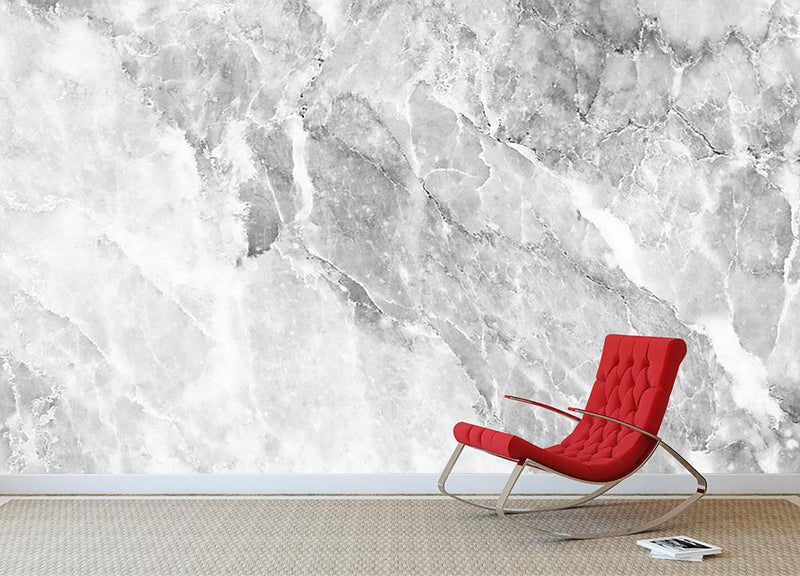 Marble Wall Mural Wallpaper - Canvas Art Rocks - 2