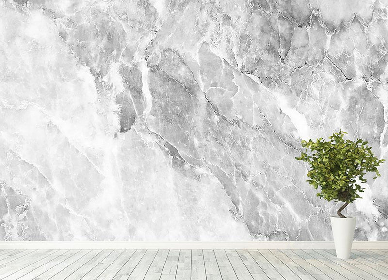 Marble Wall Mural Wallpaper - Canvas Art Rocks - 4