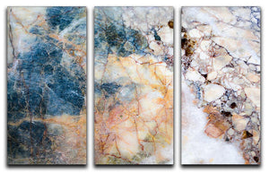 Marble patterned texture 3 Split Panel Canvas Print - Canvas Art Rocks - 1
