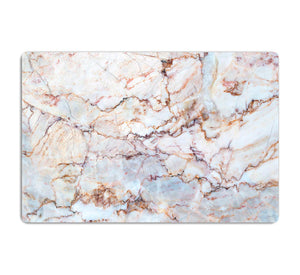 Marble with Brown Veins HD Metal Print - Canvas Art Rocks - 1