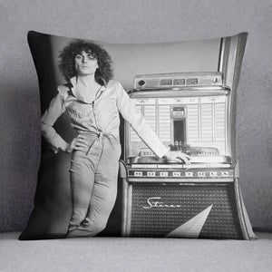 Marc Bolan at jukebox Cushion
