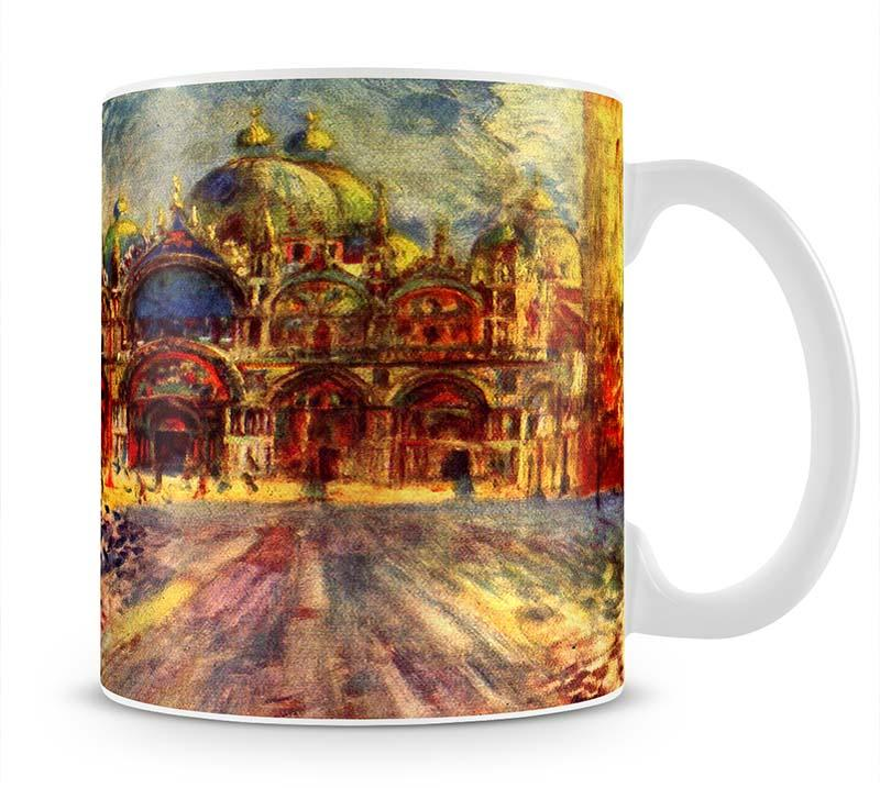 Marcus place in Venice by Renoir Mug - Canvas Art Rocks - 1
