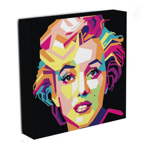 Marilyn Monroe Mosaic Canvas Print & Poster - Canvas Art Rocks