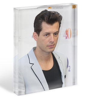 Mark Ronson Acrylic Block - Canvas Art Rocks - 1