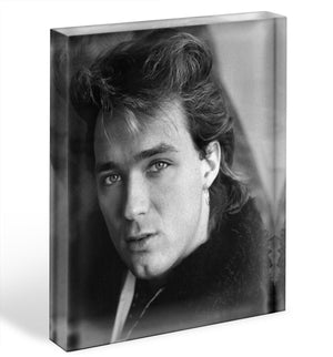 Martin Kemp of Spandau Ballet Acrylic Block - Canvas Art Rocks - 1