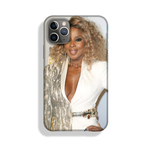 Mary J Blige at the BAFTAs Phone Case iPhone 11 Pro Max