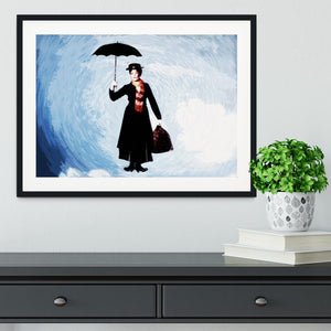 Mary Poppins Framed Print - Canvas Art Rocks - 1