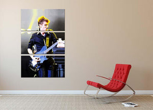 Matt Bellamy Muse 3 Split Panel Canvas Print - Canvas Art Rocks - 2