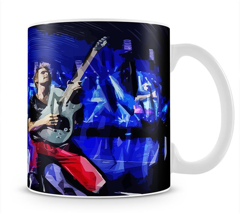 Matt Bellamy from Muse Mug - Canvas Art Rocks - 1